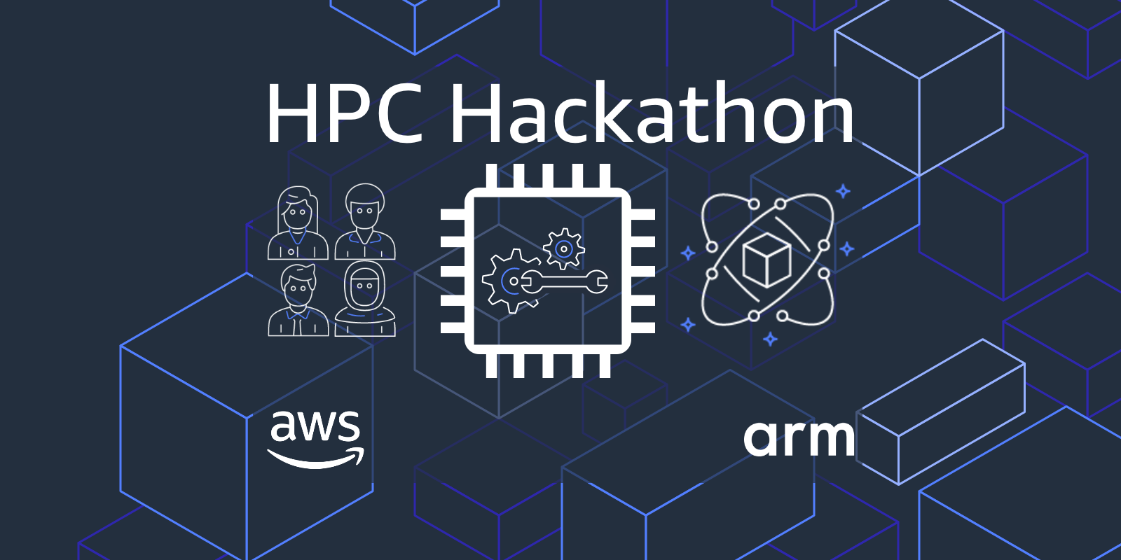 AWS HPC Hackathon Logo